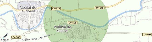 Mapa Albalat de la Ribera