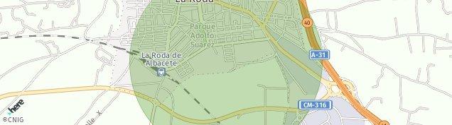 Mapa La Roda