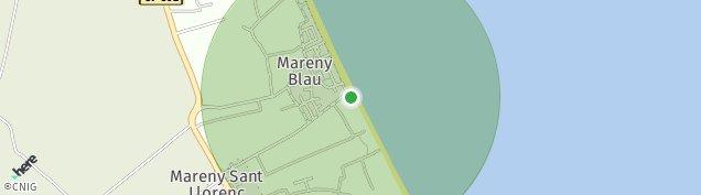 Mapa Mareny Blau