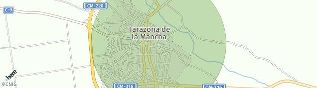 Mapa Tarazona de la Mancha