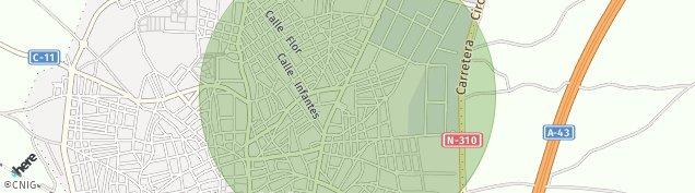 Mapa Villarrobledo