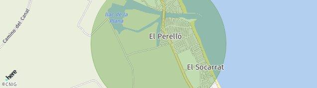 Mapa El Perello