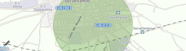 Mapa Socuéllamos