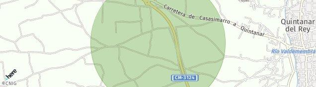 Mapa Quintanar del Rey