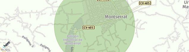 Mapa Monserrat