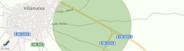 Mapa Villamalea