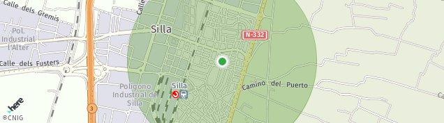 Mapa Silla