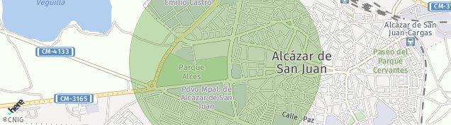 Mapa Alcázar de San Juan