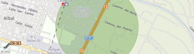 Mapa Catarroja