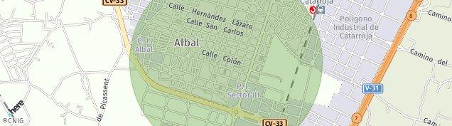 Mapa Albal