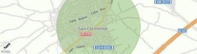 Mapa San Clemente