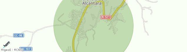 Mapa Valencia de Alcántara