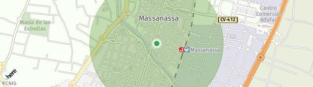 Mapa Massanassa