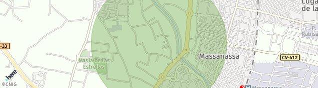 Mapa Alfafar