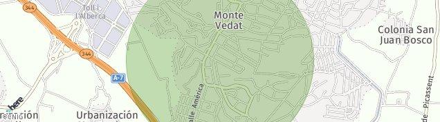 Mapa El Vedat de Torrente