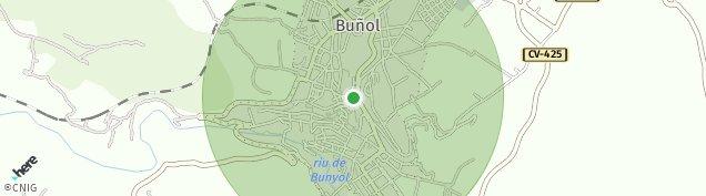 Mapa Buñol