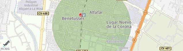 Mapa Lugar Nuevo de La Corona