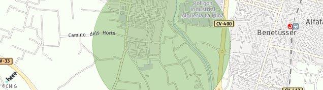 Mapa Paiporta