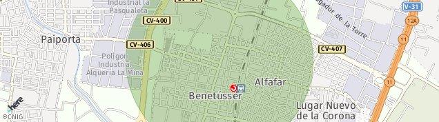 Mapa Benetússer