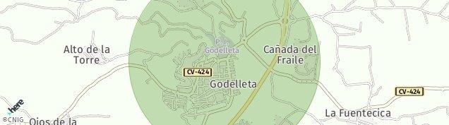 Mapa Godelleta