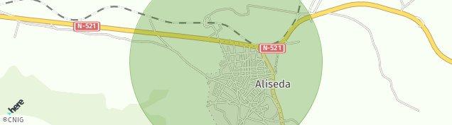 Mapa Aliseda