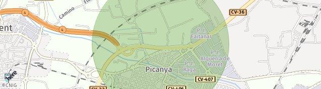 Mapa Picanya