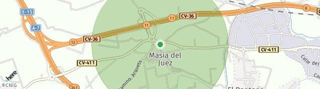 Mapa Masia del Juez