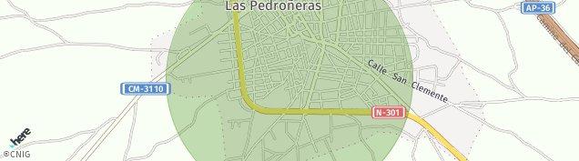 Mapa Las Pedroñeras