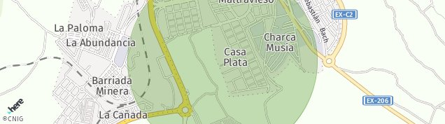 Mapa Centro Militar Santa Ana