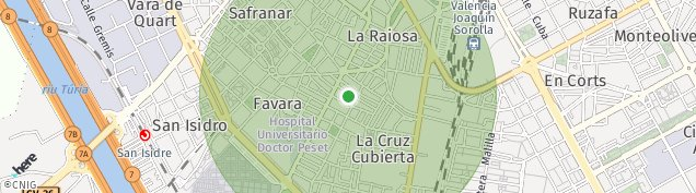 Mapa Valencia