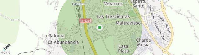 Mapa Aldea Moret