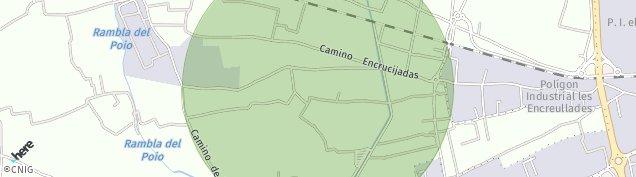 Mapa Barrio del Cristo