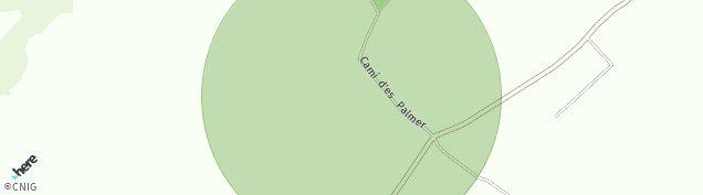 Mapa Les Palmeres