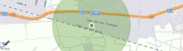 Mapa Barrio de Porta
