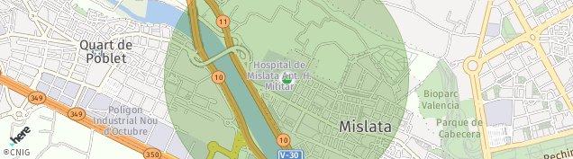 Mapa Mislata