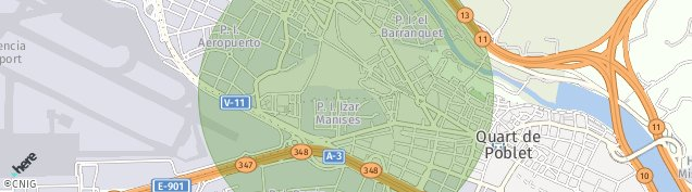 Mapa Manises
