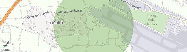 Mapa Partida Collado
