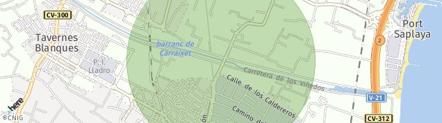 Mapa Alboraya