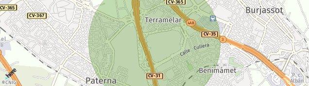 Mapa Terramelar