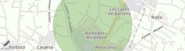 Mapa Casas de Barcena