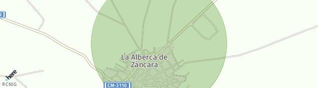 Mapa La Alberca de Záncara