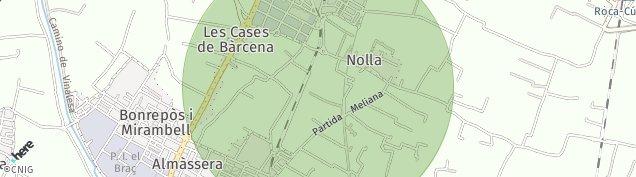 Mapa Bonrepos I Mirambell