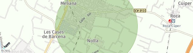 Mapa Cuiper
