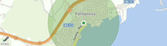 Mapa Palmanova