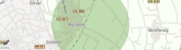 Mapa Rocafort