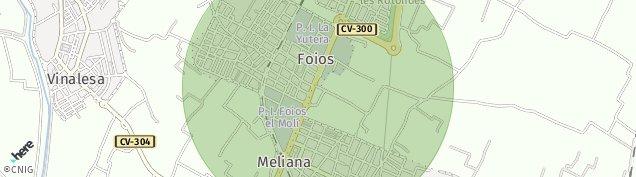 Mapa Meliana