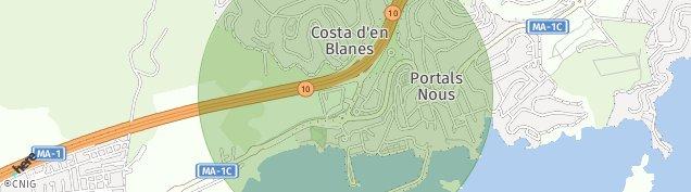 Mapa Portals Nous