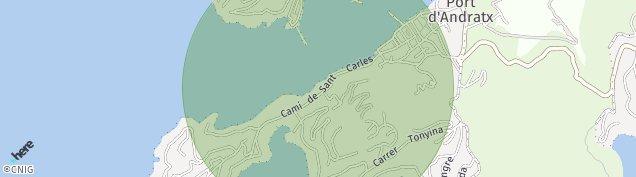 Mapa Port d'Andratx