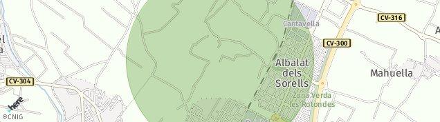 Mapa Albalat dels Sorells
