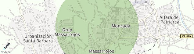 Mapa Masarrochos
